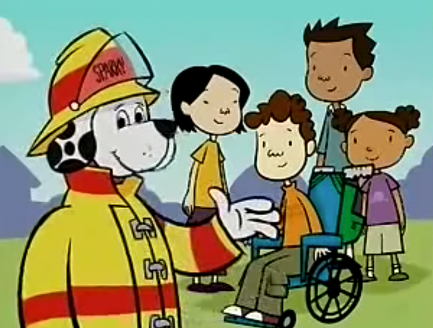 Sparky Says Join My Fire Safety Club